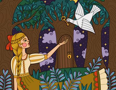 Illustrations for Szivárvány Magazin