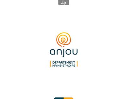 Refonte du logo du Maine et Loire (faux logo)