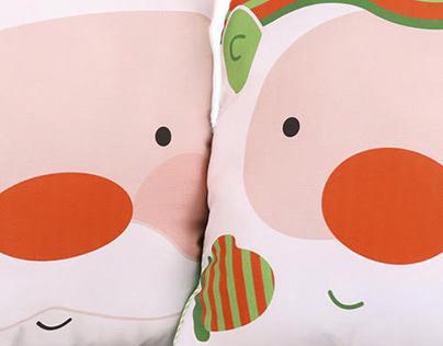 Christmas Pillows // AFSM