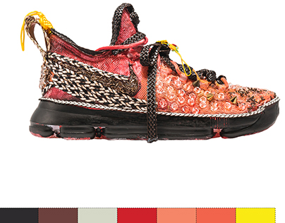 KD x Nike Sneaker Design