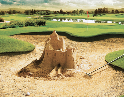 Advertising - Audi / Sand Castle