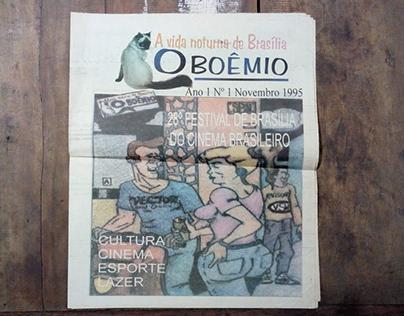 Meu primeiro jornal - O Boêmio 1995