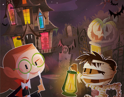 The haunted manor !