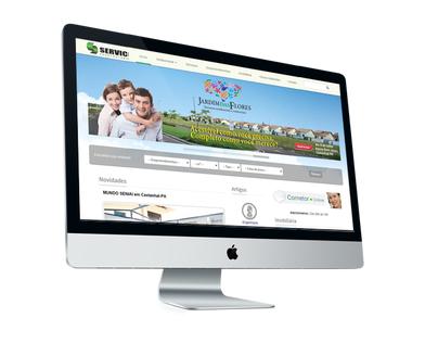 Web Site - Servic Construtora