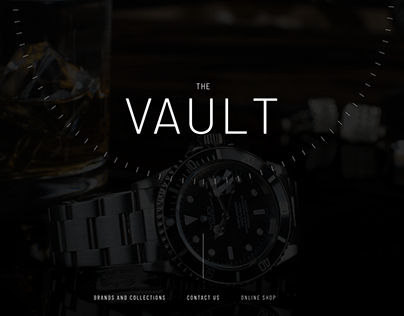 Vault - Website Design
