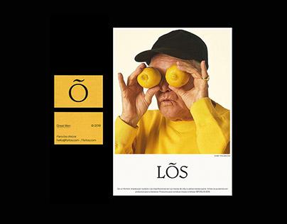 LOS cosmetic - Visual identity
