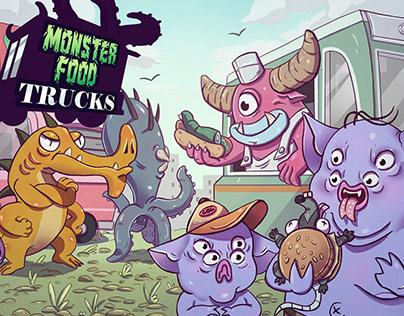 Monster Food Trucks(Boardgame)
