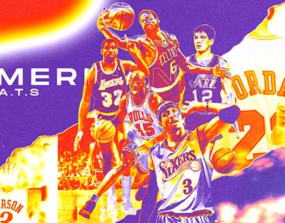 NBA - AMERICAN G.O.A.T.S