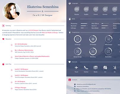 Ui Designer Resume graphic designer resume examples graphic designer cv sample uk ui designer resume template graphic designer resume Ui Ux Designer Curriculum Vitae On Behance