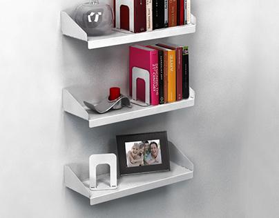 Biblioteca 3por3 - 3per3 shelving