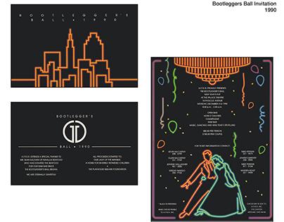 Bootleggers Ball Invitations