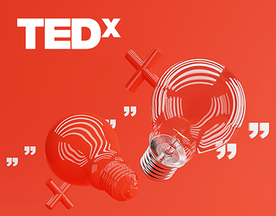 Tedx Różanka visual identity