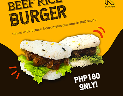 R Burger Instagram and Facebook Ads and Promotions