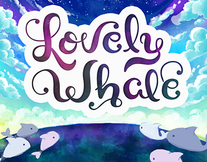 Lovely Whale game project