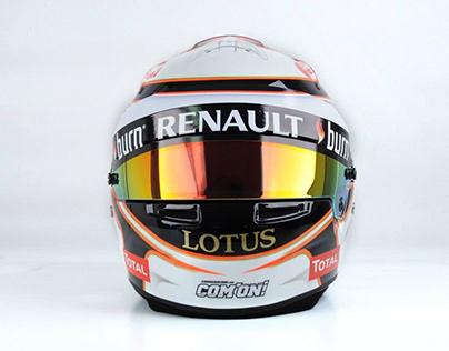 DESIGN • HELMET FOR F1 DRIVER.