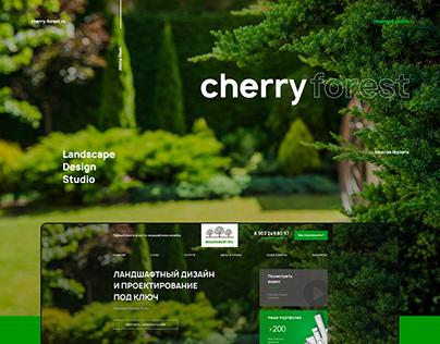 Landscape Design Studio / UX / UX design