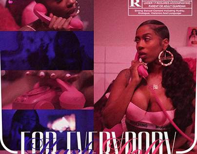 FOR EVERYBODY   Kash Doll • Cover Art