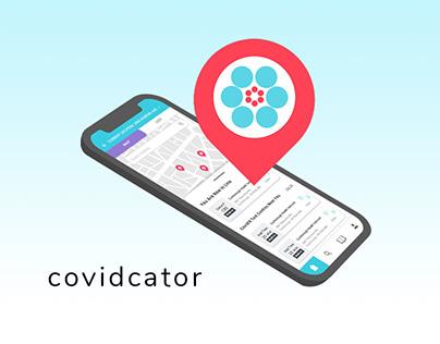 covidcator - COVID19 Testing Centres Locator