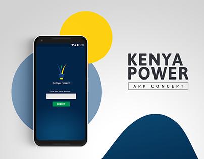 Kenya Power - App Concept