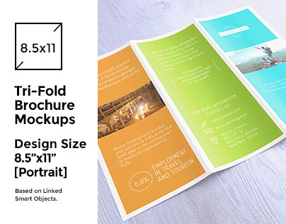 Tri-Fold Brochure/Flyer Mock-up's