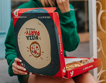 Pizza Party Branding