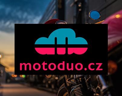 Concept of logo for MotoDuo!