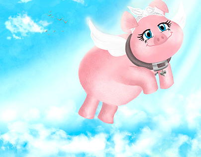 The flying pig called Dolly