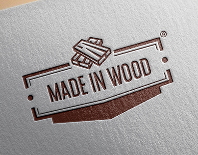 Made in Wood // Logo design