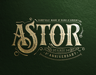 ASTOR GIN • 2018 Anniversary Edition