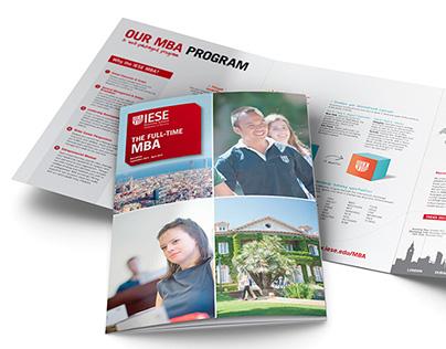 IESE Programs' brochures