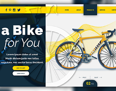 Bike store Website
