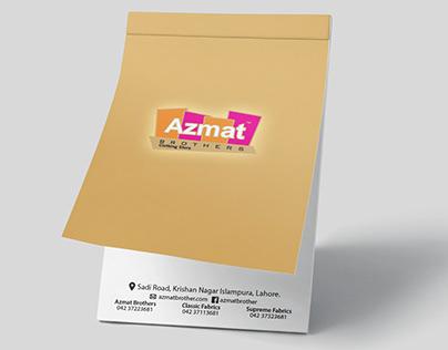 Azmat Brothers Publicity Chitpad