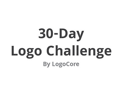 30-Day Logo Challenge by LogoCore
