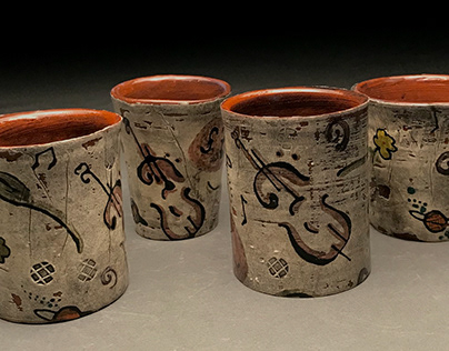 Cello Cup Set