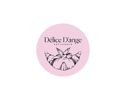 Delice D'ange (cafe identity, 2015)