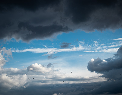 Sky before a storm...