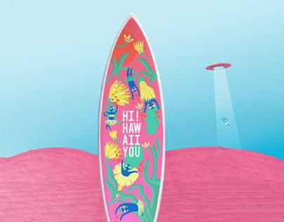 Adidas surfboard design