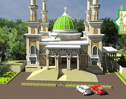 Masjid Baiturrahman Logo Design