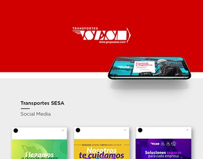 Transportes SESA | Social Media & Video