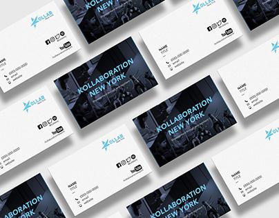 Kollaboration NY Business Cards