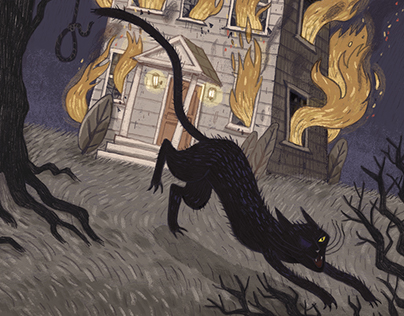 The Black Cat by E. A. Poe