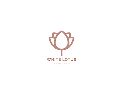 White Lotus Jewelry // Branding