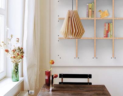 SNAP.TO.GRID // customizable bookshelf