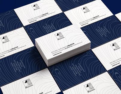 Mshiferaw Business Card Design