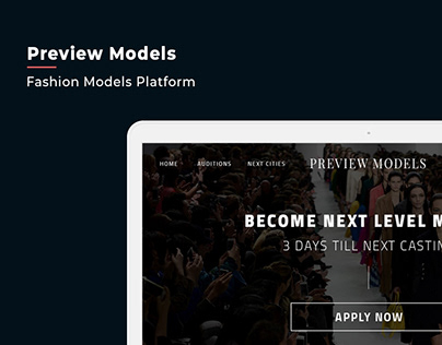 Preview Models / Fashion models platform