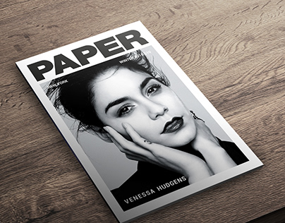 Paper* Magazine Cover