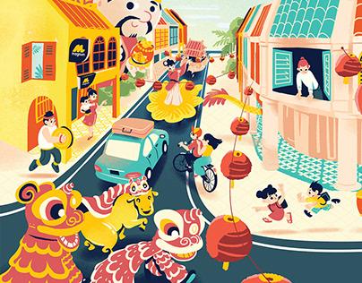 Ox Year Festive Campaign | Key Visual
