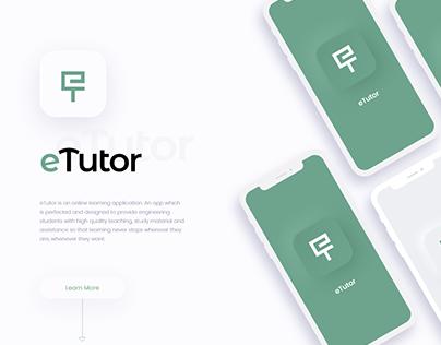 eTutor iOS App