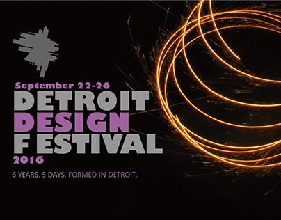 Detroit Design Festival Package