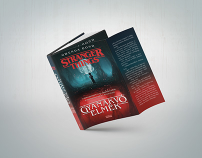Sranger Things – Gyanakvó elmék Book Design